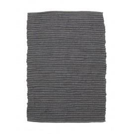 petit tapis descente de lit chindi gris house doctor 60 x 90 cm