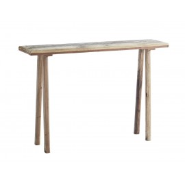 madam stoltz table console rustique bois recycle style campagne