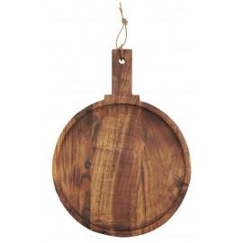 planche a tapas ronde bois fonce acacia ib laursen