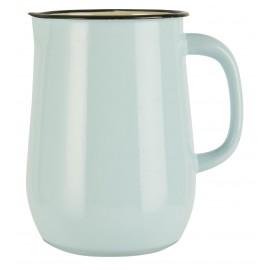 Pichet métal émaillé style rétro IB Laursen bleu