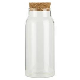 flacon de conservation verre couvercle liege ib laursen 330 ml