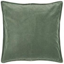 Housse de coussin carrée velours IB Laursen vert