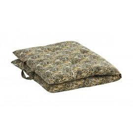 madam stoltz matelas pour fauteuil banc gaddiposh imprime vegetal vert