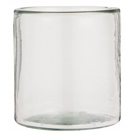 Vase cache pot verre porte bougie IB Laursen