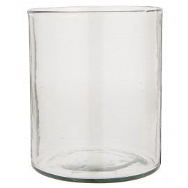 Vase large verre hurricane porte-bougie IB Laursen