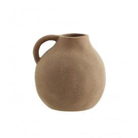 madam stoltz vase gres terracotta style rustique artisanal