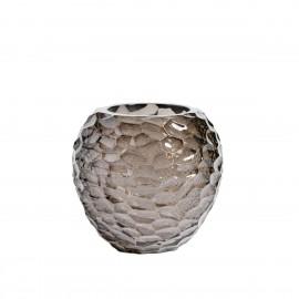 muubs normia petit vase ambre resine forme organique