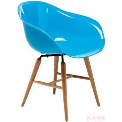 Fauteuil design bleu forum kare