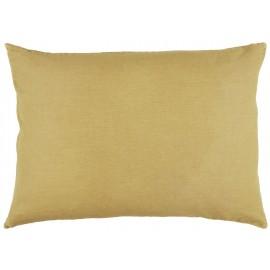 ib laursen housse coussin rectangulaire lin jaune moutarde 50 x 70 cm