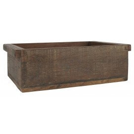 Boîte vintage rectangulaire bois recyclé IB Laursen