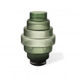 pols potten steps vase design retro chic verre vert