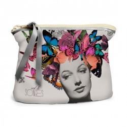 Trousse à maquillages papillons multicolores butterfly bonjour mon coussin
