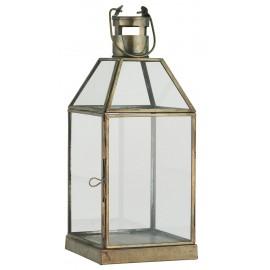 lanterne vitree metal dore laiton antique ib laursen