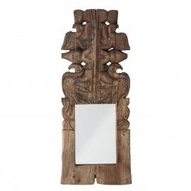 bloomingville miroir bois indien recycle sculpte hob