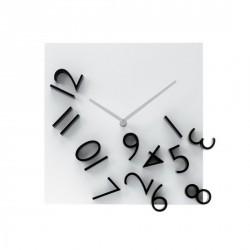 Horloge murale design falling numbers Karlsson