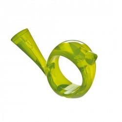 Rond de serviette oiseau vert koziol pi:p