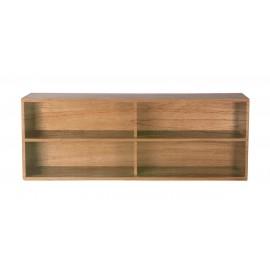 hk living meuble modulaire bois clair etagere element a