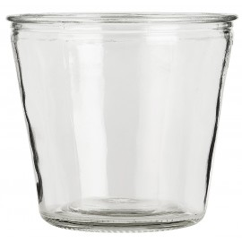 ib laursen cache pot verre transparent conique