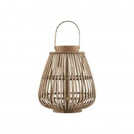 house doctor lanterne bois bambou balu