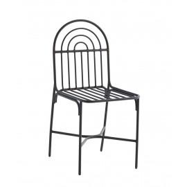 Chaise métal à barreaux Madam Stoltz