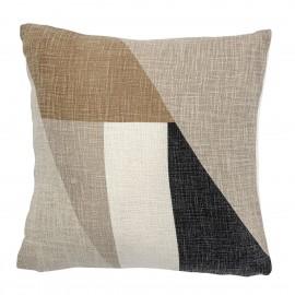 Coussin coton motif géométrique Bloomingville