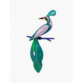 studio roof fiji paradise bird oiseau carton decoration murale