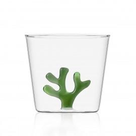 ichendorf verre a eau borosilicate coral reef vert