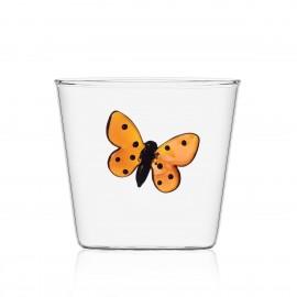 ichendorf verre papillon orange borosilicate garden picnic