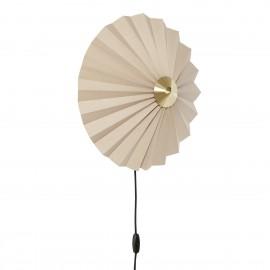 Applique ronde style origami Hübsch