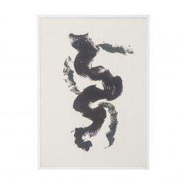 bloomignville illustration poster style japonais cadre blanc