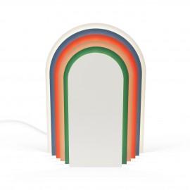 lampe a poser presse citron cemi multicolore metal demi cercle