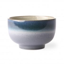 hk living bol style vintage 70 s ceramique bleu degrade