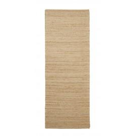 house doctor tapis long couloir chanvre naturel hempi 90 x 300 cm