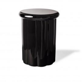 tabouret bout de canape roman pols potten laque noir