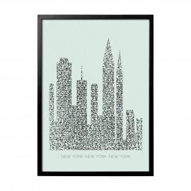 bloominville tableau deco ville urbain mahan