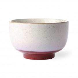 hk living bol gres givre blanc rouge 70 s