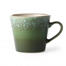 hk living mug vintage 70 s gres vert grass