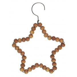 ib laursen decoration de sapin etoile bois naturel style campagne