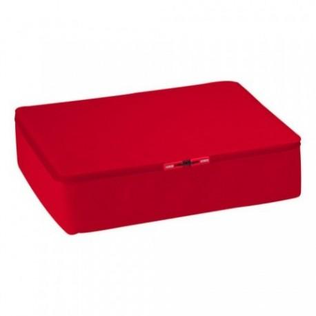 Trousse de toilette homme design rouge authentics travel box