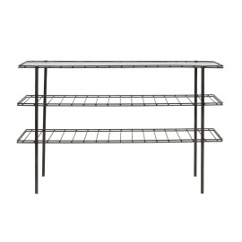 house doctor table console minimaliste epure gany metal verre