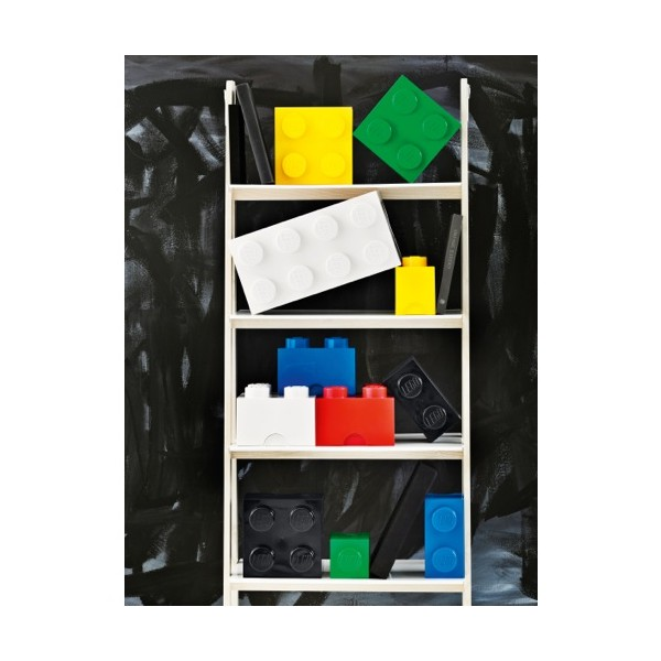 lego rangement boite jaune m 4 plots. Black Bedroom Furniture Sets. Home Design Ideas