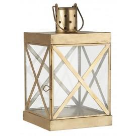 ib lausen lanterne metal dore laiton