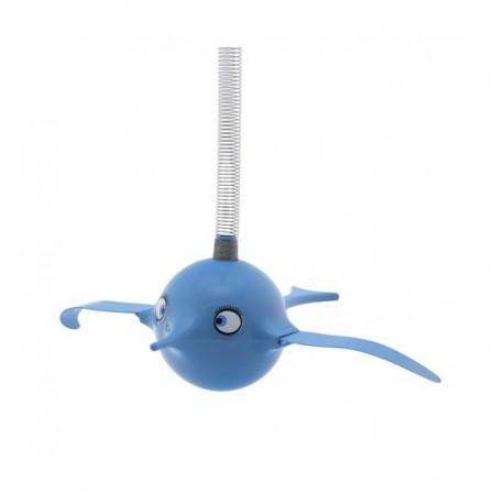 Mobile oiseau rigolo hoptimist birdie turquoise