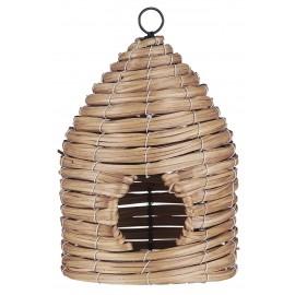 mangeoire pour oiseaux tiges de bois tresse ib laursen