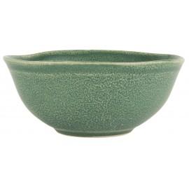 ib laursen bol petit dejeuner gres style rustique vert