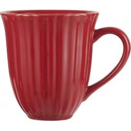 ib laursen tasse mug evase gres rouge framboise texture style campagne