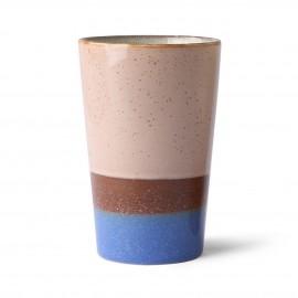 hk living mug a the gres vintage 70 s multicolore sky