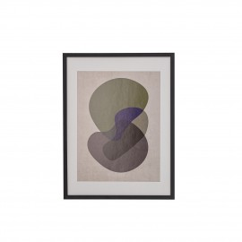 bloomingville tableau illustration abstraite colore géométrique