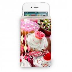 Housse iphone originale bonjour mon coussin cupcakes
