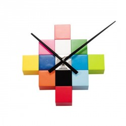 Horloge cube couleur do it yourself karlsson